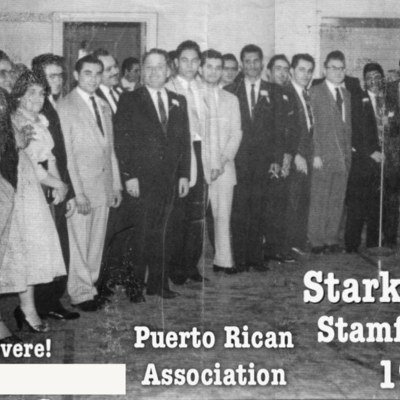 Puerto Rican Association in Stamford in 1957
