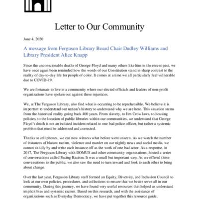 FergusonLibrary_LetterToOurCommunity_2020-06-04.pdf