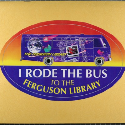 Folder containing information from the launch of the Ferguson Library's Library-School Initiative