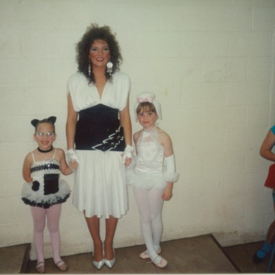 Margaret Metwally with children at Steps Dance School