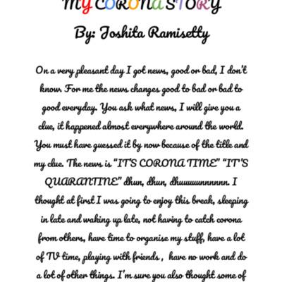 MY CORONA STORY