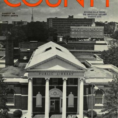 Fairfeld County Magazine (August 1968) Special Stamford Issue