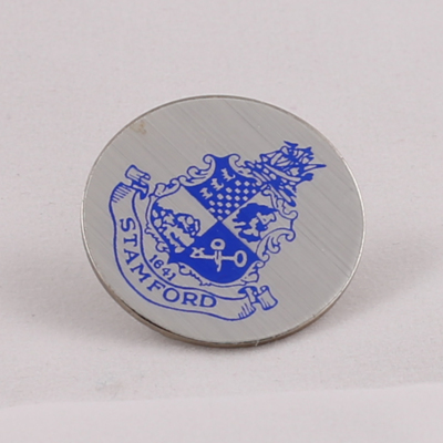 Pin with the seal of the city of Stamford