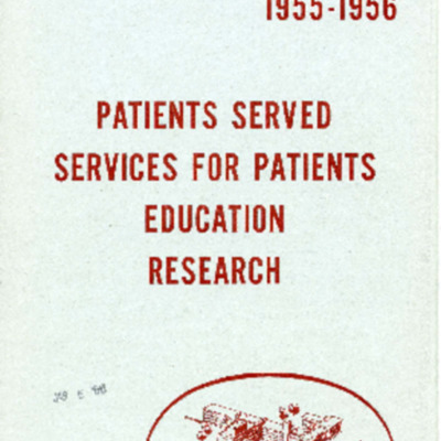The Stamford Hospital Annual Report 1955-1956