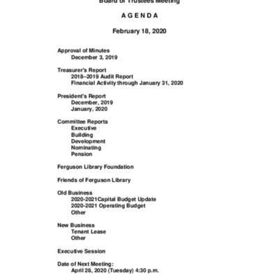 2020-02-18_FergusonLibrary_BoardOfTrustees_Agenda.pdf