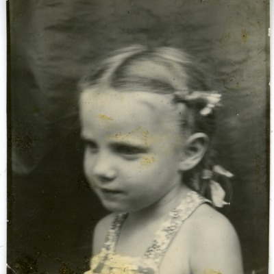 Gwen Ketchum photographed as a child