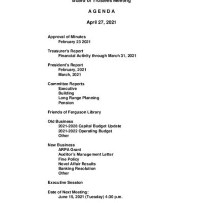 2021-04-27_FergusonLibrary_BoardOfTrustees_Agenda.pdf