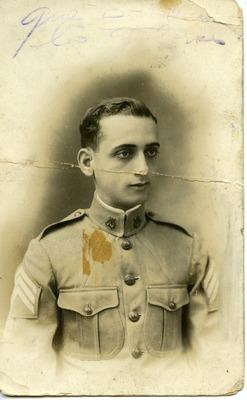 Portrait of Ramón Isidro, father of Miriam Isidro Arrango