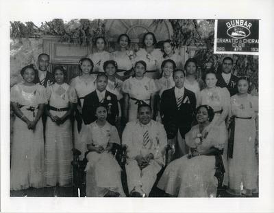 Dunbar Dramatic and Choral Club