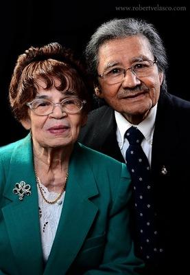 Portrait of Galdino and Juana Velasco