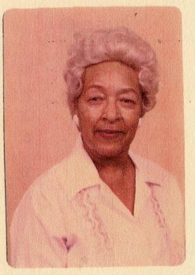Portrait of Dr. Joyce Yerwood