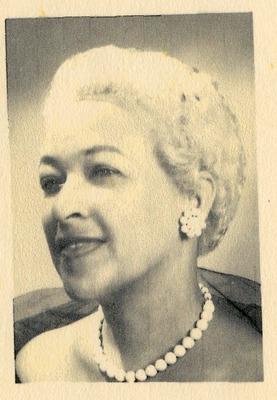 Portrait of Dr. Joyce Yerwood in formal attire