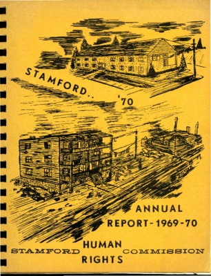 Stamford Human Rights Commission Annual Report 1969-1970
