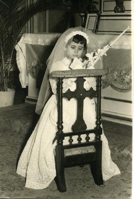 Miriam Isidro Arrango at her Confirmation